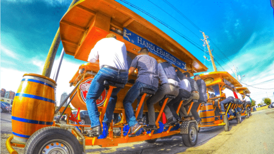 Things To Do in Indy for Corporate Event: Pedal Pub